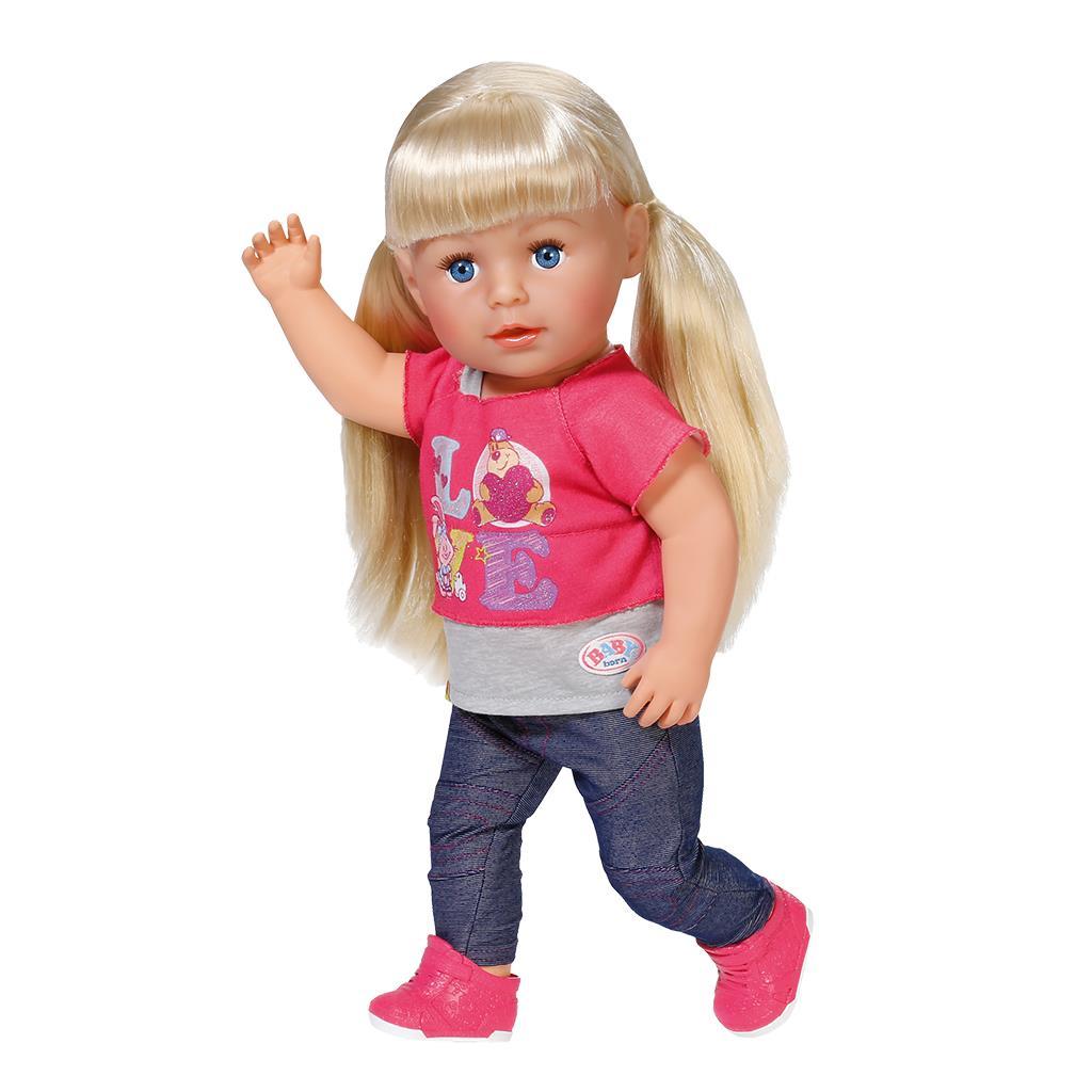 кукла интерактивная карапуз аленка 1000 слов 7 игр 45 см карапуз