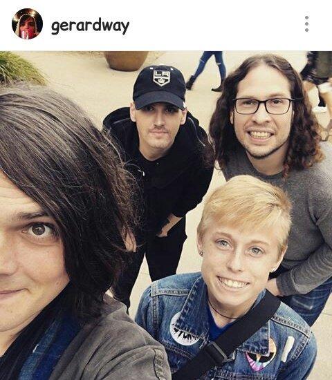 Gerard way snapchat