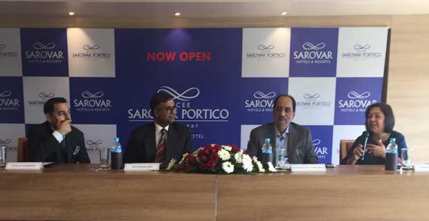 Sarovar Hotels launches Efcee Sarovar Portico in Bhavnagar