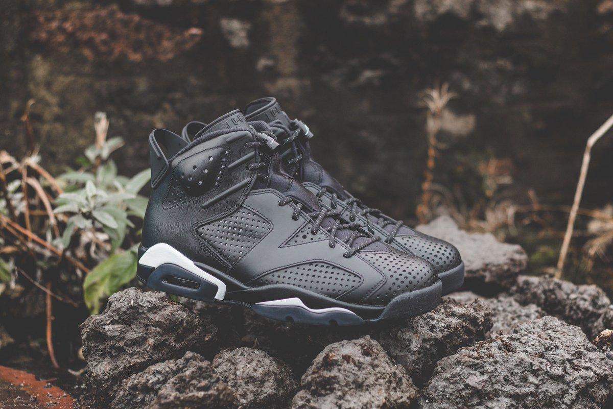 "db5e000c74d Nike Air Jordan VI ""Black Cat"" is available to buy ONLINE now! #hanon #nike  #airjordan6 ..."