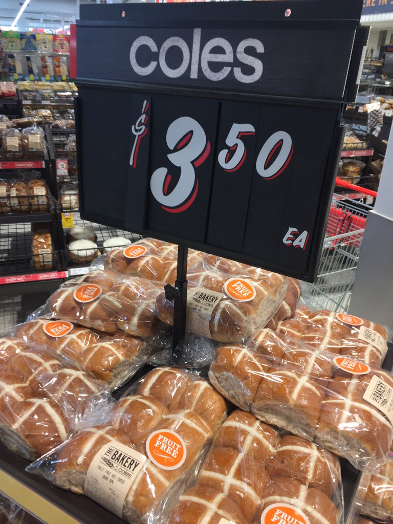 Come on, @Coles, settle down. We've only just done the birth and you're moving on to the crucifixion already? https://t.co/KDYDD0gGhr