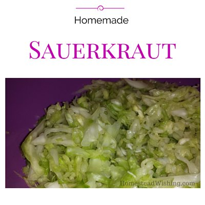 How to make your own sauerkraut