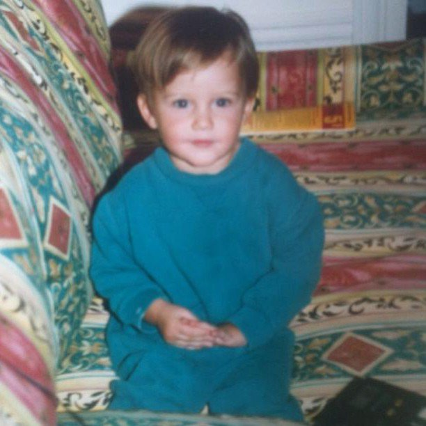 Sam Heughan As A Child