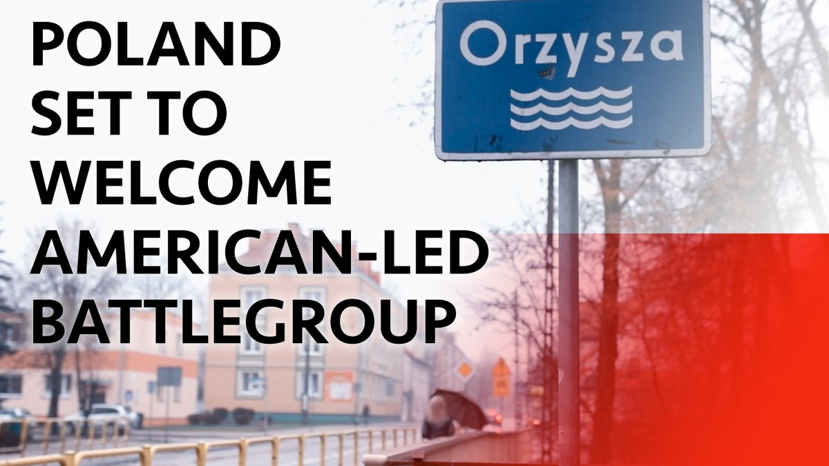 A garrison town in Poland prepare to welcome a multinational battlegroup of almost 1,000 soldiers