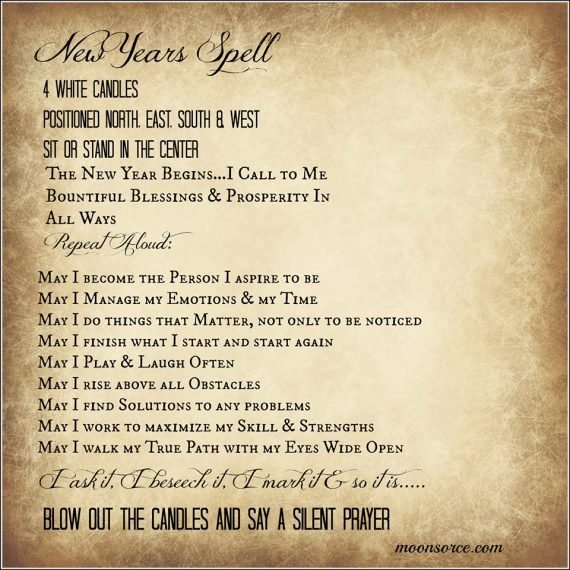 New Years Spell ~ pass it on https://t.co/tZRR3L4h8y