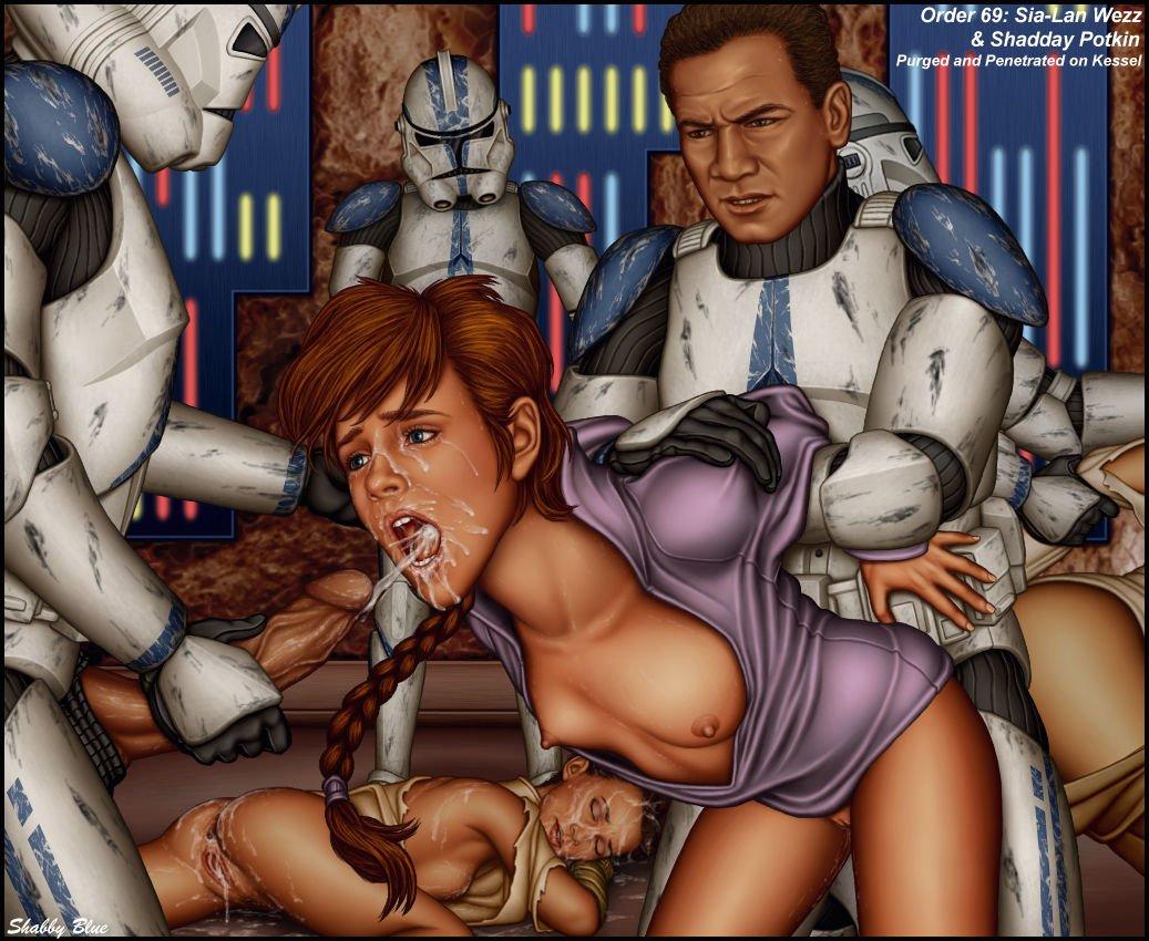 Порно звездные войны видео
