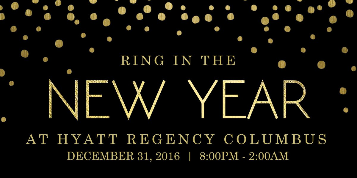 Don't have any plans for New Year's Eve? Grab your friends and help Hyatt Regency Columbus Ring in the New Year! https://t.co/XakoMEvHzl https://t.co/27dtKfEadD