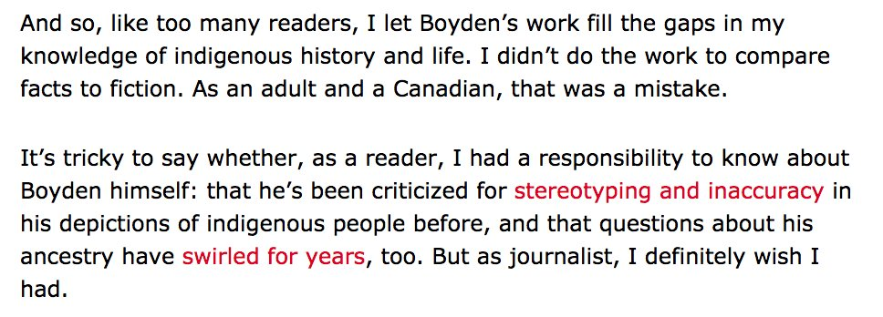 Another article from Globe and Mail, about Boyden: https://t.co/h3o0GqkD55 https://t.co/vBZm4W5mf9