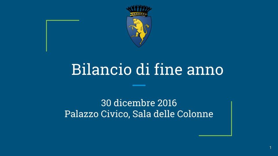 Thumbnail for Conferenza stampa di fine anno del Comune di Torino
