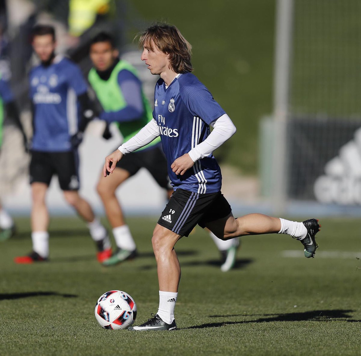 Finished training for today #RMCity