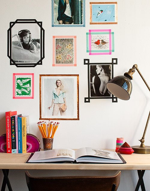 Decor on a Dime: 10 Ways to Decorate with Washi Tape