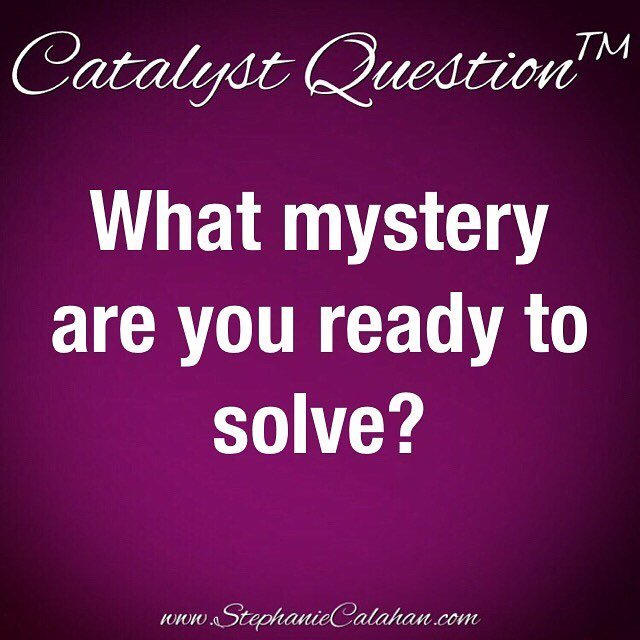 Ask yourself: What mystery am I ready to solve? . #CatalystQuestion #MagneticMindset  http:// ift.tt/2iO07kf  &nbsp;  <br>http://pic.twitter.com/SWI6IkKmi1