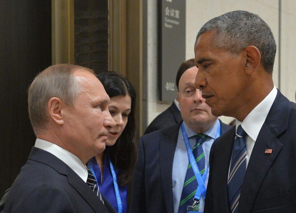 Chaud! #Obama #Poutine  #guerre froide #usa #Russie <br>http://pic.twitter.com/wXHuoLo1gY