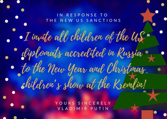 Russia On Twitter Vladimir Putin I Offer New Year Greetings To President Obama His Family Also To President Elect Realdonaldtrump The American People Https T Co N1ws0jhxgt