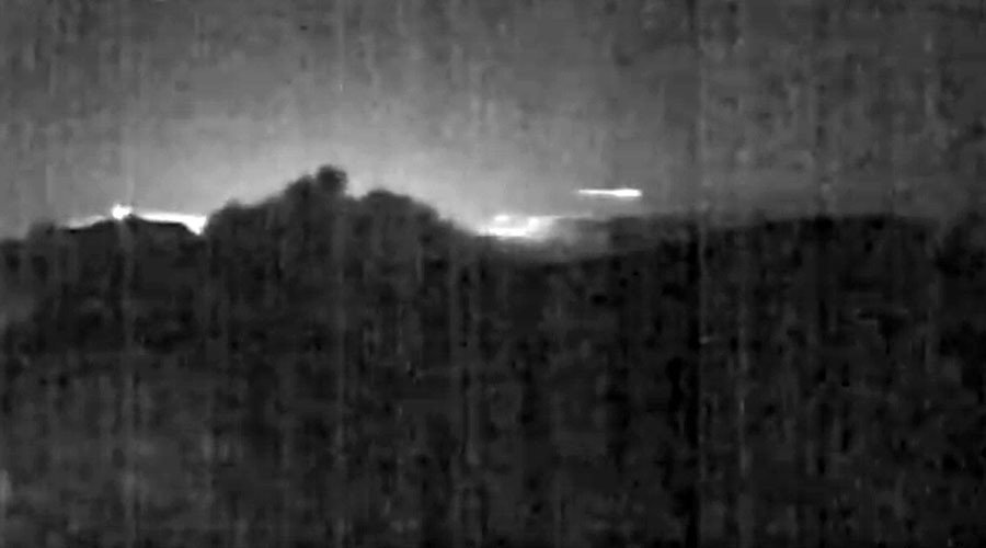 Meteorite sul Vulcano: video da Turrialba in Costa Rica