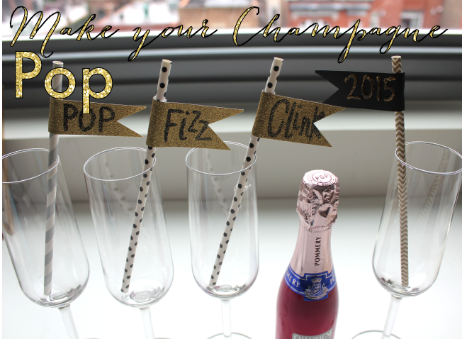 Flags for Your Champagne Toast