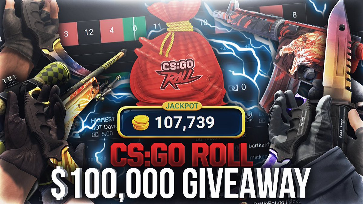 csgoroll giveaway quick timing on twitter quot fatnoob is announcing the 1600
