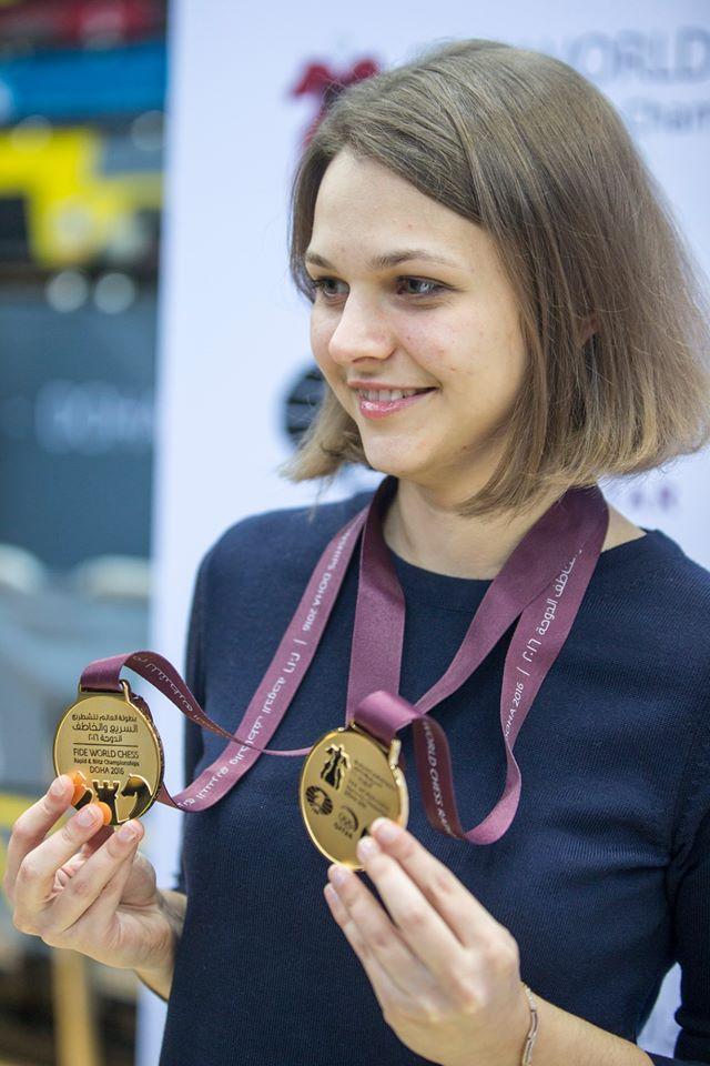 Украинская шахматистка Анна Музычук стала чемпионкой мира по блицу - Цензор.НЕТ 6706