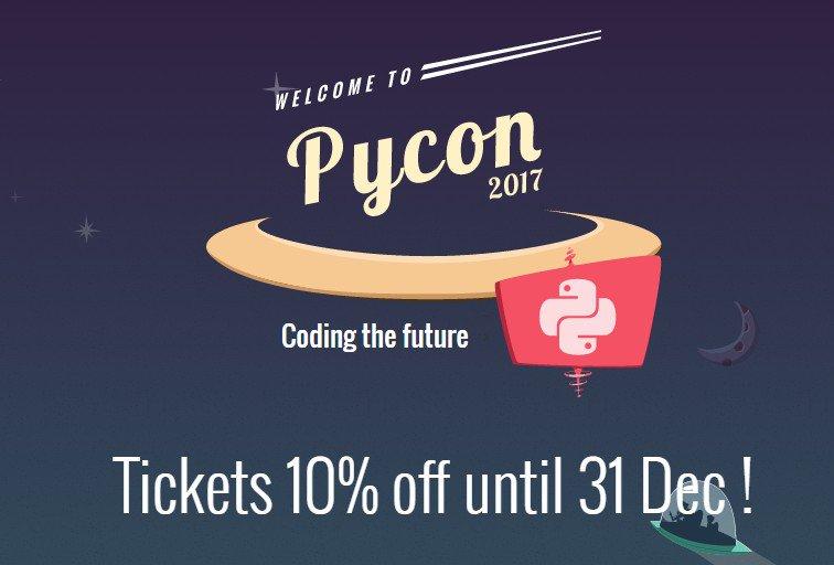 Ojo hasta MAÑANA último día con 10% de descuento del @pyconcolombia  FEBRERO 10 Y 11 #PyConCO2017 ¡PARTICIPA! https://t.co/n4ok3wRdEB https://t.co/5Hkbay7DVv