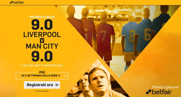 bonus betfair.it super quote