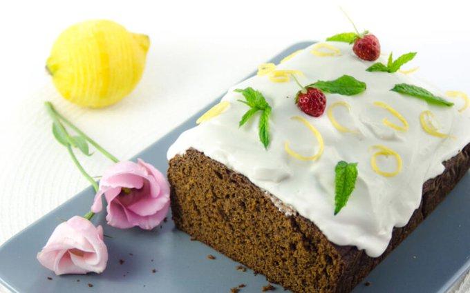 Molasses Spelt Cake [Vegan]
