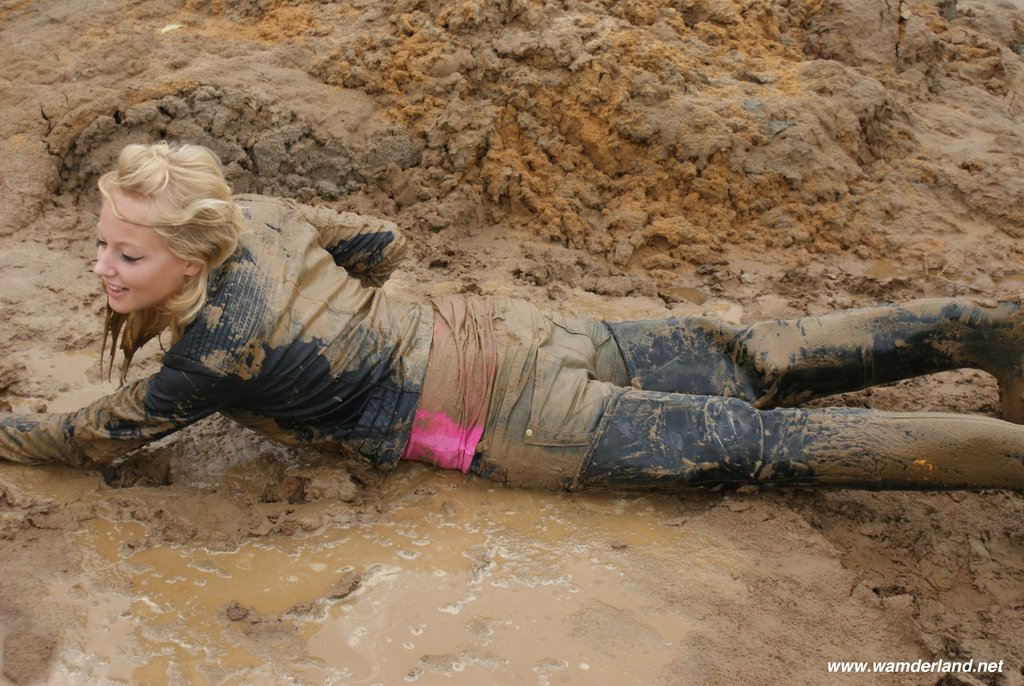 Westerns movie girl dragged in mud, daughter bed nude