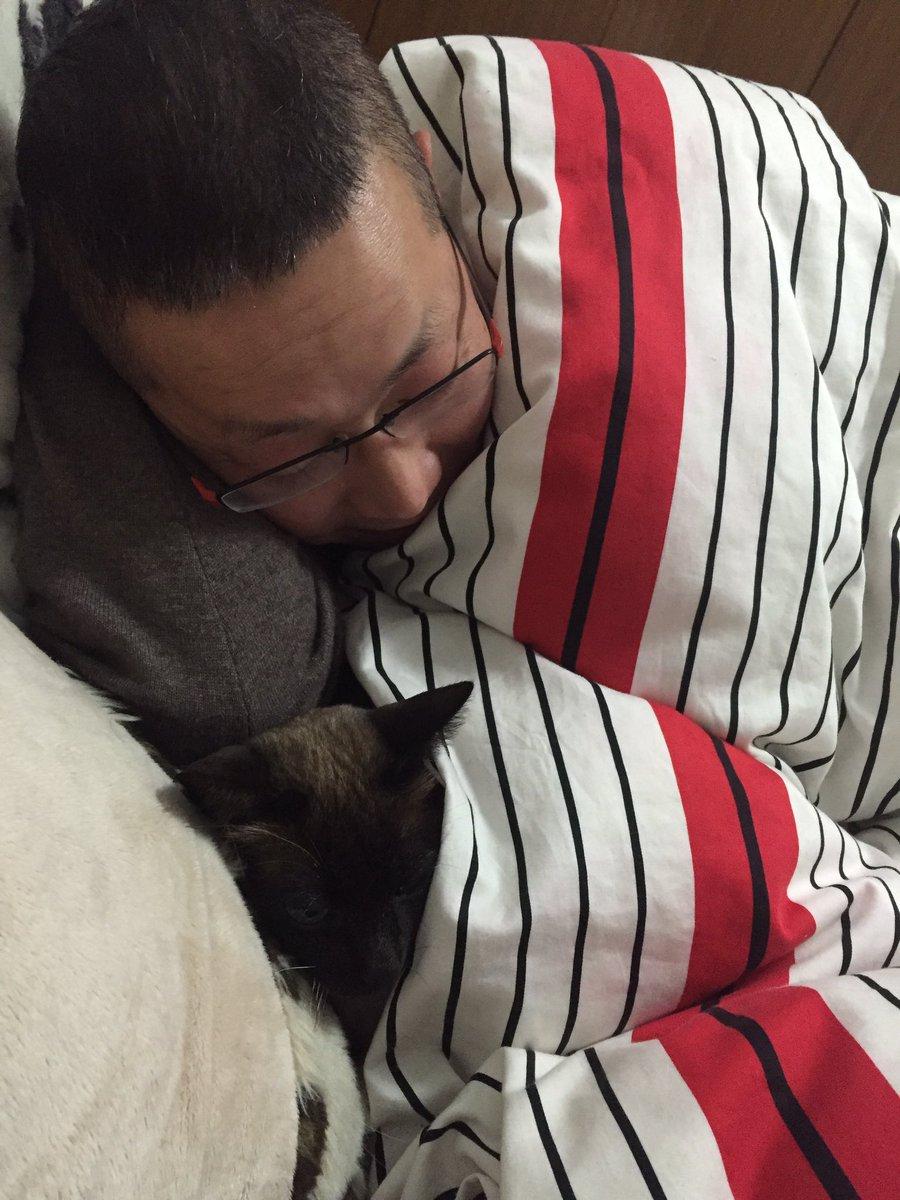 两年前还会抱怨我怎么带了只猫回家的我爹。 https://t.co/N4FQUGnTFT