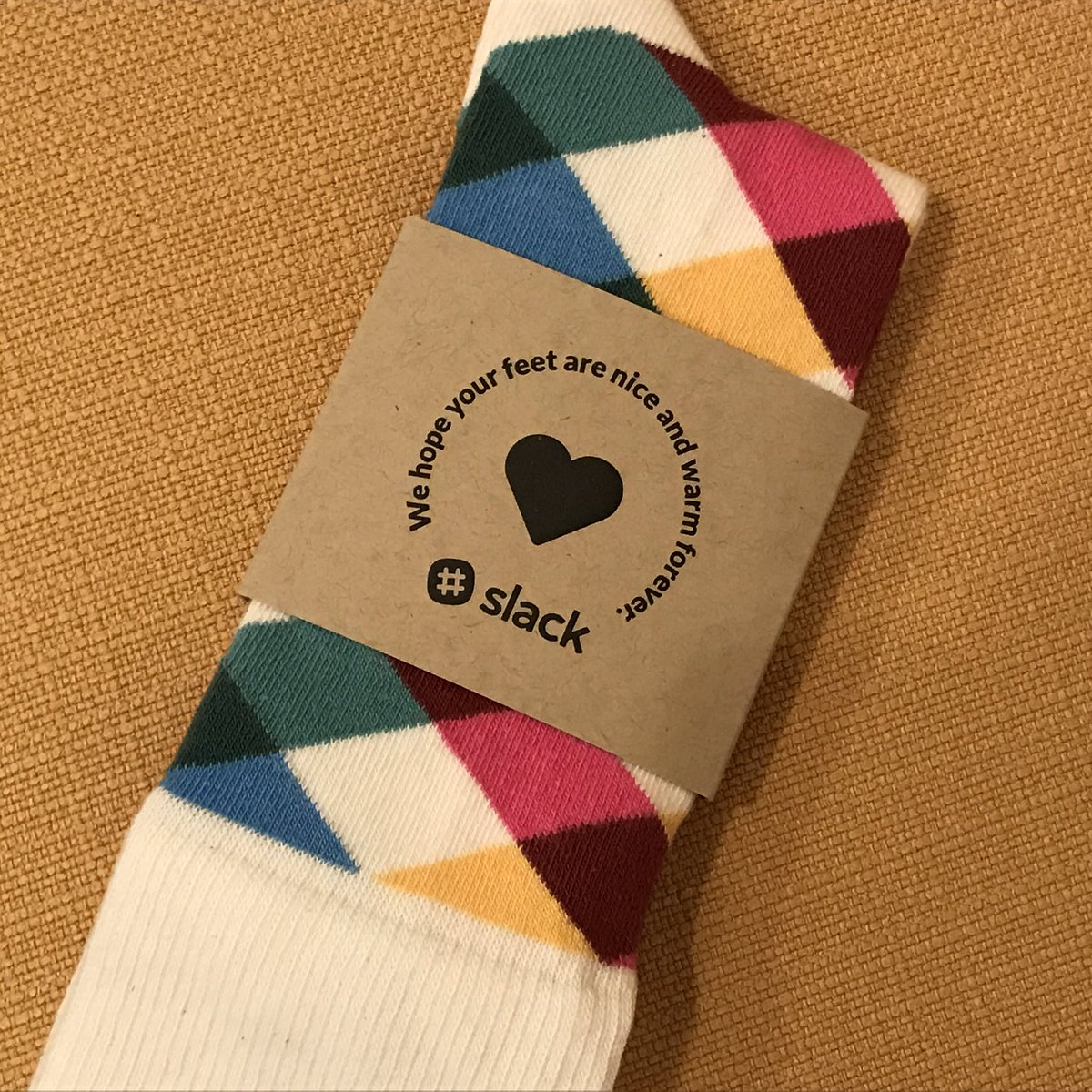 My new favorite socks. #slack @SlackHQ https://t.co/zY1DKSowNu