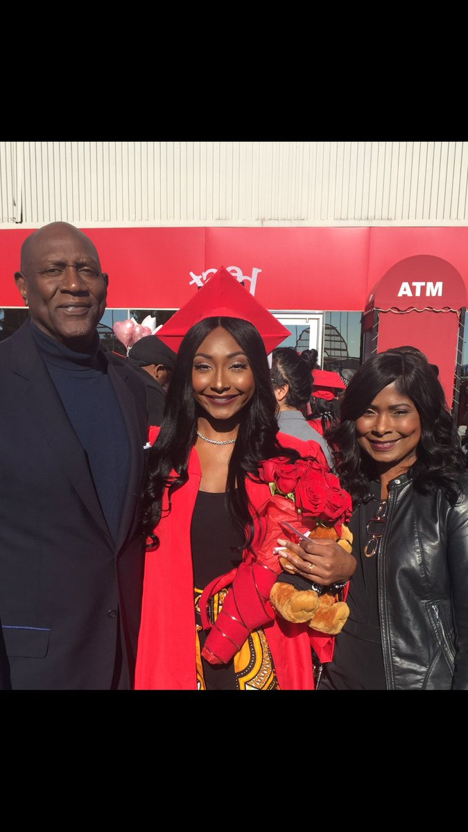 """Spencer Haywood on Twitter """"Graduation day for my daughter Isis"""