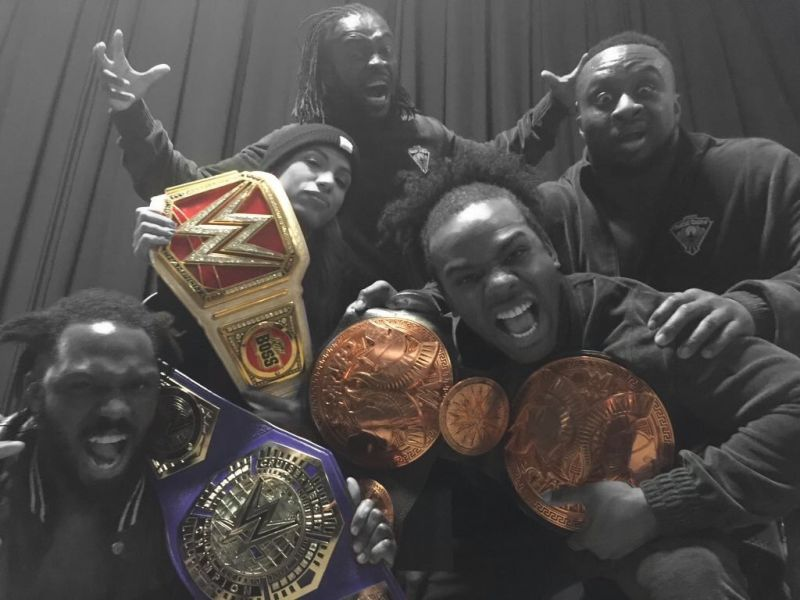 Still happened. Can't take that memory away. #WWERoadblock #BlackExcellence https://t.co/7P9TTpKzBP