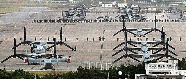 沖縄知事は再飛行を容認した日本政府に対して「もうこういう政府は相手にできませんね。法治国家ではない」と報道陣に語った。  オスプレイ、午後2時以降に全面再開へ 米軍発表、国が容認 https://t.co/N1F0zruTgd https://t.co/zj6A4UQttd