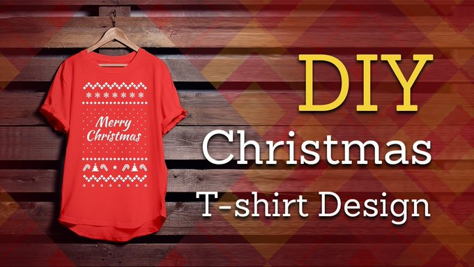 How To Design Christmas T-Shirts For Your Friends and Family