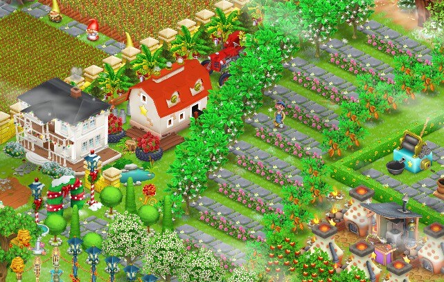 Hay Day Daily Pics On Twitter These Are A Real Forest Farm