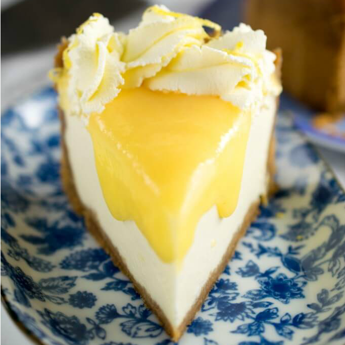 Instant Pot Lemon Ginger Cheesecake