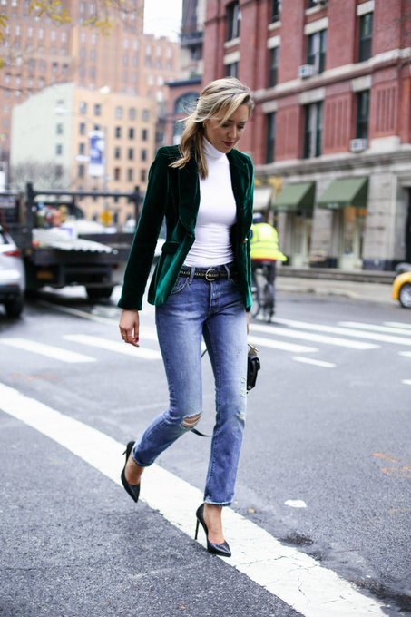 Casual Friday: Velvet Blazer