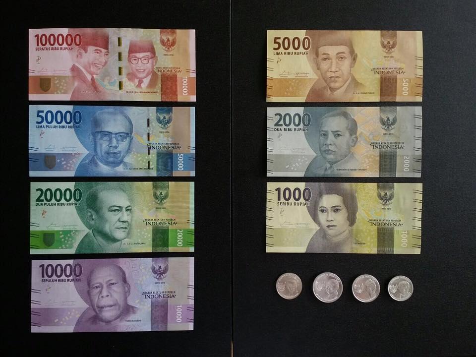 Ternyata Ini  Gambar Sosok Pahlawan Di Pecahan Rupiah Uang Baru 2016 - AnekaNews.net