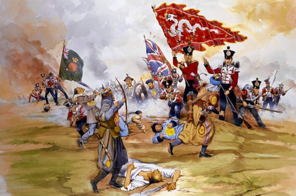 opium wars in china What were the opium wars, and why did they happen learn more about the first and second opium wars between china and great britain bodies lie on a slope in the interior of north taku fort, near the french entrance, during the second opium war on august 21, 1860 in china.