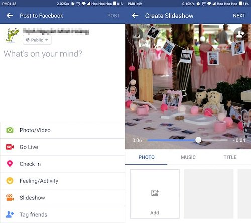 Thumbnail for Como criar um slideshow e postar Facebook colorido