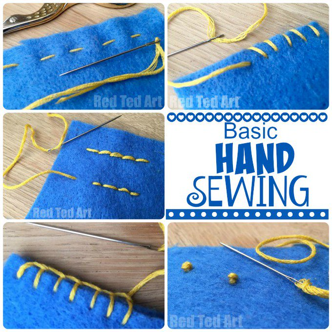 Basic Hand Stitches for Beginners