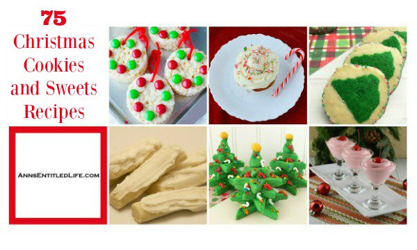 75 Christmas Cookies and Sweets Recipes