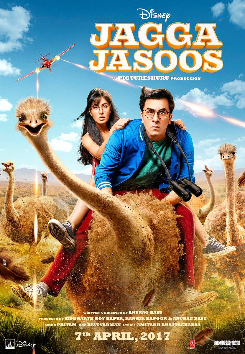 Jagga Jaoos First Official Poster starring Ranbir Kapoor, Katrina Kaif