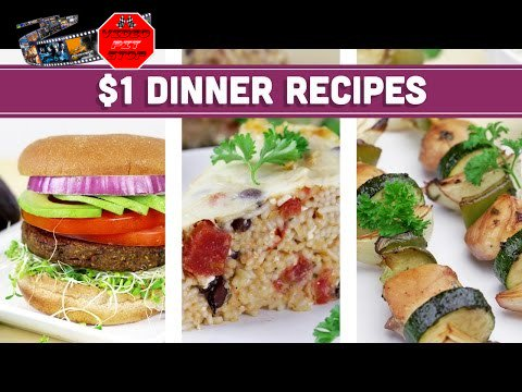 Healthy $1 Dinner Recipes – Easy Budget Meals! – Mind Over Munch – Video Pit Stop