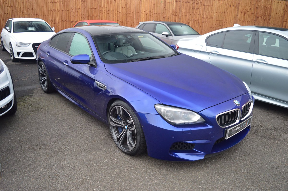 Baytree Cars Ltd On Twitter New In 2014 BMW M6 Gran Coupe San Marino Blue Check Out Our Website For The Full Specification GranCoupe