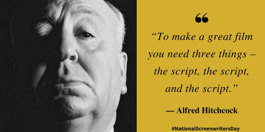 The first official #NationalScreenwritersDay is Jan 5th. Join us to celebrate screenwriters everywhere!