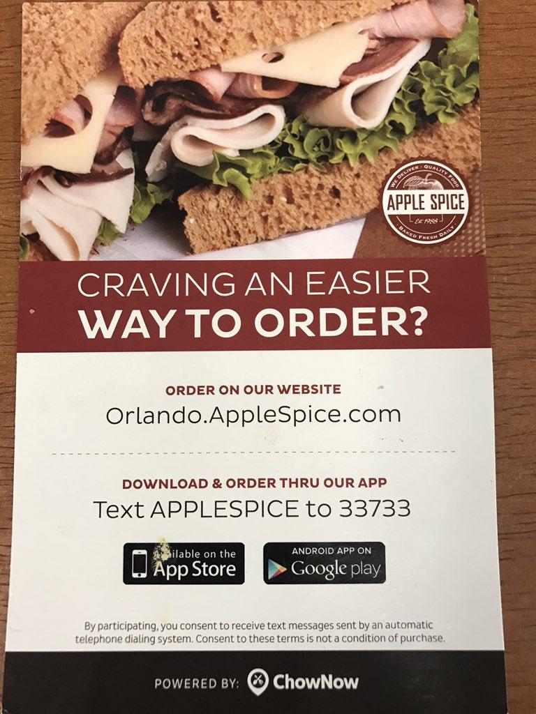 apple spice junction asj orlando twitter