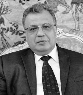 Shocked and appalled by brutal murder of Ambassador Karlov in Ankara. He was an outstanding diplomat. https://t.co/QvQpGLiEn7
