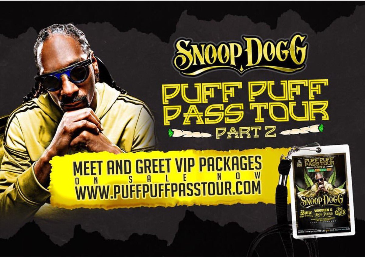 Puffpuffpasstourpart2 hashtag on twitter do you want to win puffpuffpasstourpart2 tickets w snoopdogg at comericatheatre 1229 kristyandbryce Gallery