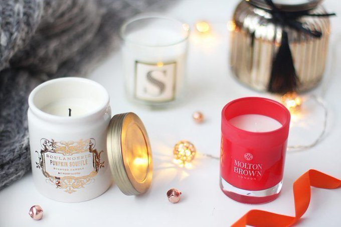 Festive Candle Picks