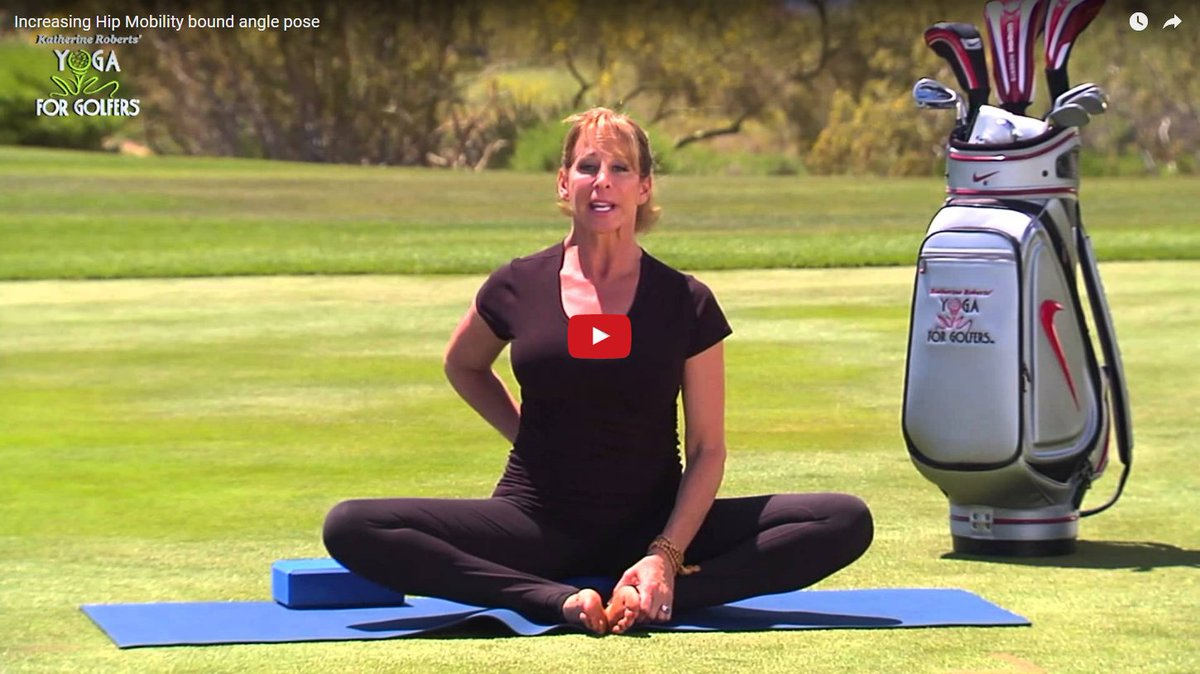 Katherine Roberts On Twitter Hip Mobility Is Important For An Efficient Golf Swing Enjoy My Recent Tip Golfforher Golf Yoga Athletes