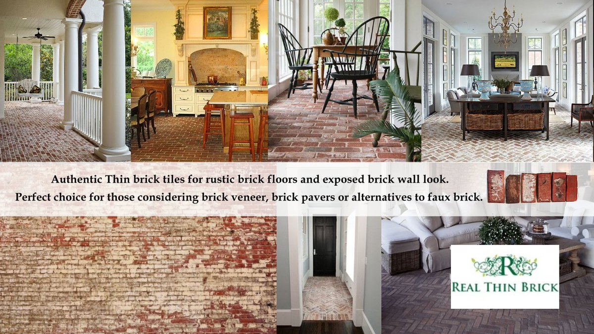 Real thin brick realthinbrick twitter brick bricktiles thinbrick realthinbrick great gallery for ideas and help creating your brick design httprealthinbrick picitter dailygadgetfo Images
